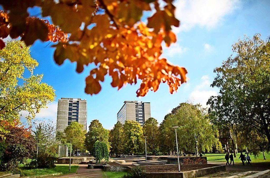 Uni in der Stuttgarter City: Die Zulagenaffäre betrifft 140 Angestellte. Foto: Uni Stuttgart