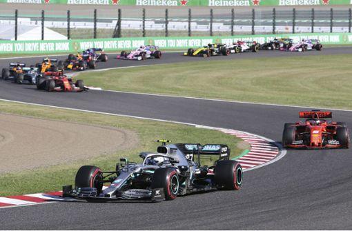 Mercedes holt Formel-1-Konstrukteurstitel