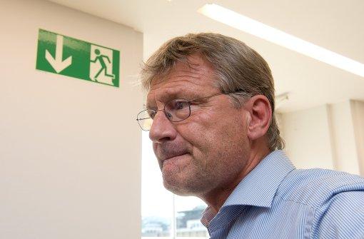 Jörg Meuthen verlässt die Fraktion