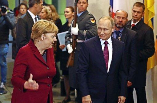 Feuerpause in Syrien zum  Gipfel mit Putin