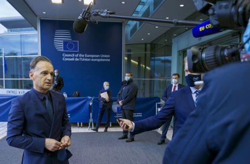 EU bringt Russland-Sanktionen auf den Weg
