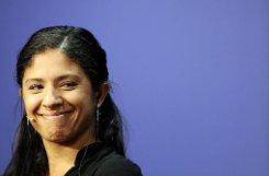 Brasiliens Seleção kann gleich mit zwei Superstars aufwarten: Marta und ihre ebenbürtige Gefährtin bCristiane/b passen sich in der Nationalmannschaft die Bälle zu, dass es eine Lust ist. Wie ihre Landsfrau ist auch Cristiane hochdekoriert: 2009 kam sie in die Endausscheidung der Wahl zur Weltfußballerin, 2008 wurde sie bei den Olympischen Spielen in Peking zur Top-Torjägerin gekürt. Foto: AP