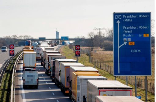 47 Kilometer Stau auf Autobahnen Richtung Polen