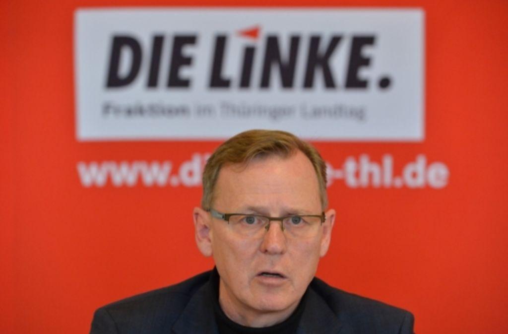 Die Überwachung des Linken-Politikers Bodo Ramelow war rechtswidrig. Foto: dpa