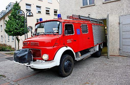 Im  Oldtimer zum Einsatz: Feuerwehrautos sind in die Jahre gekommen