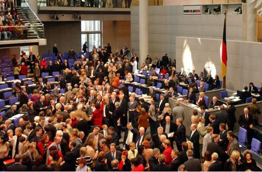 Wir wählen einen XXL-Bundestag