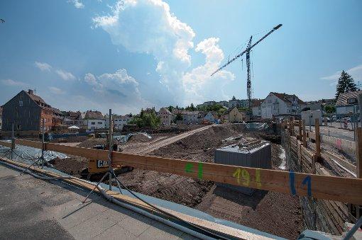 Baustellen in Stuttgart: Die Neue Mitte von Botnang