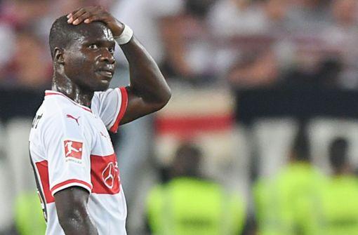 Chadrac Akolo zurück im Training