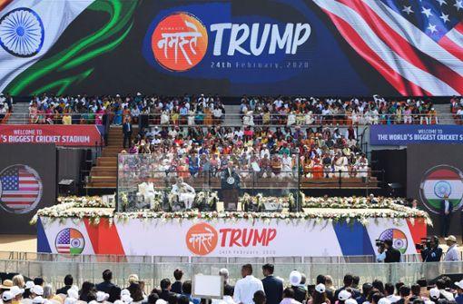 Große Show für den US-Präsidenten