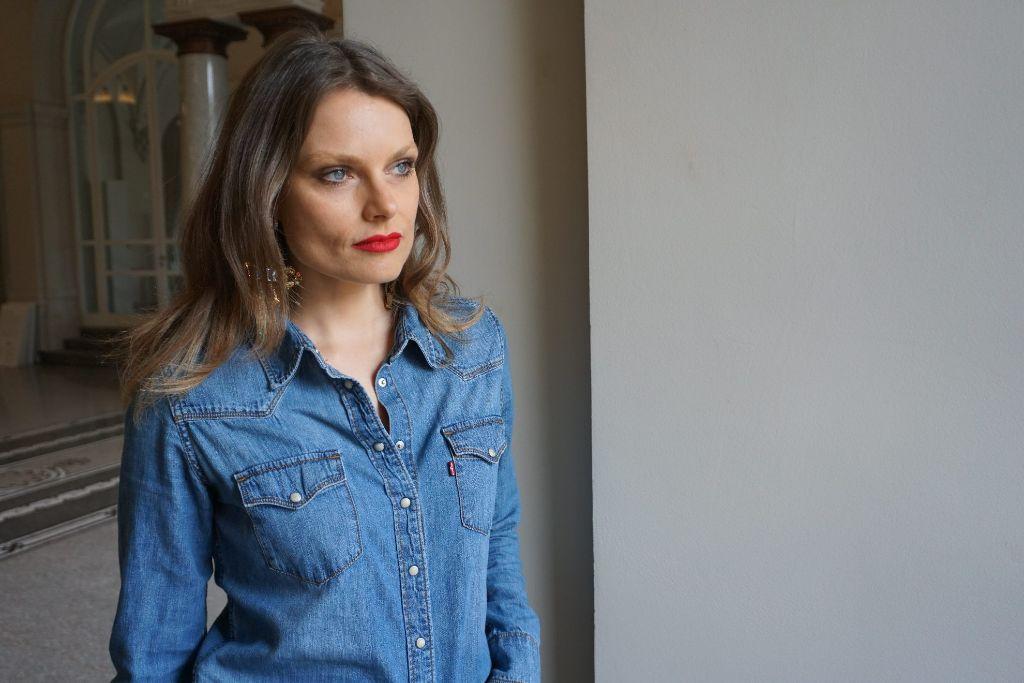 Heute im Stylecheck: Die Stuttgarterin Pamela Valentin. Foto: Ina Schäfer