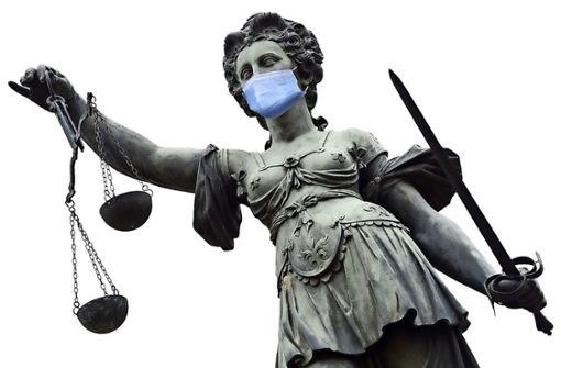 Trotz Corona: Die Justiz macht keine Pause