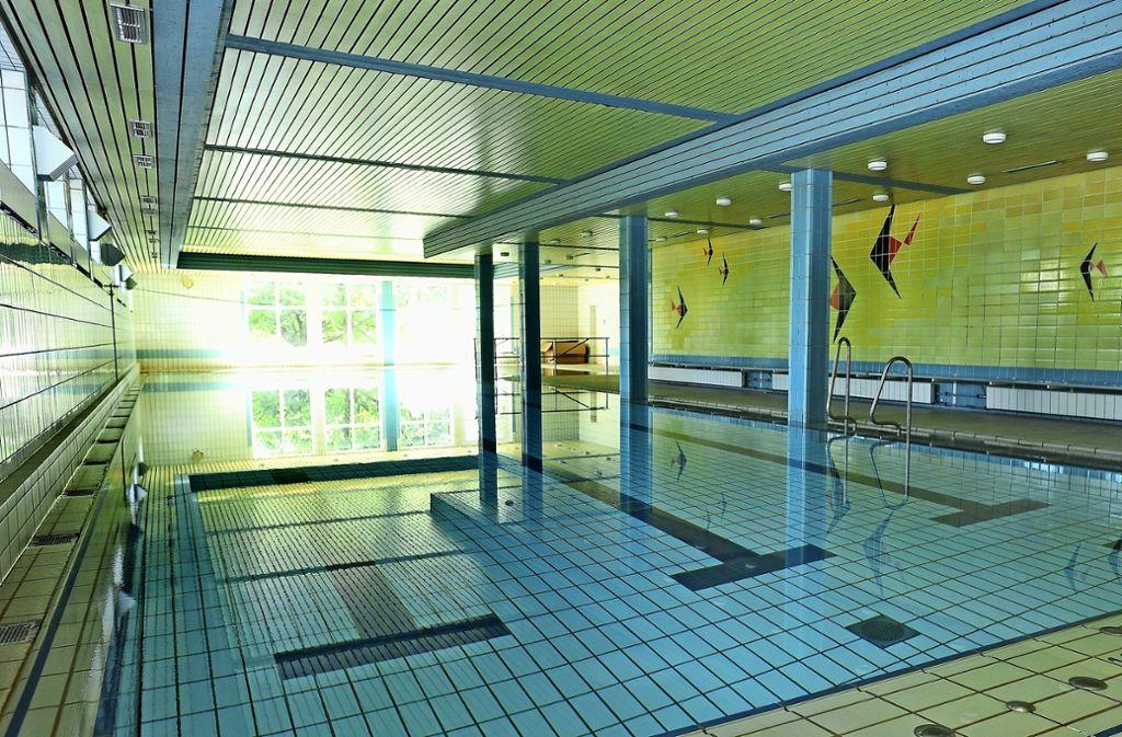 Lehrschwimmbecken wie hier an der Grundschule in Affalterbach sind auch in Stammheim und Weilimdorf heiß begehrt. Foto: Werner Kuhnle (Archiv)
