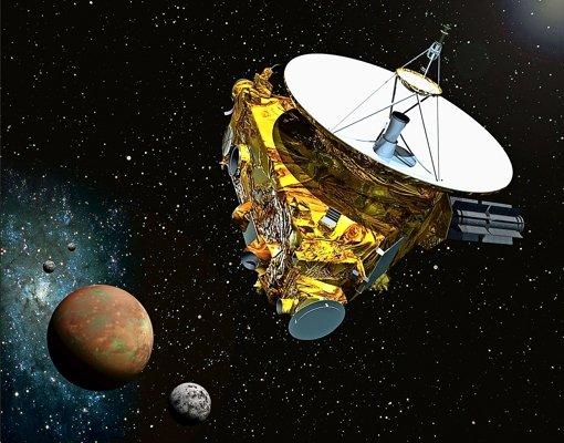 Pluto wird erkundet