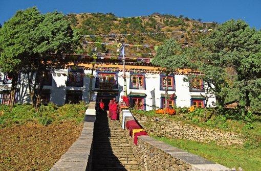 Ein Bild aus besseren Tagen: das noch unzerstörte Kloster  Serlo. Foto:
