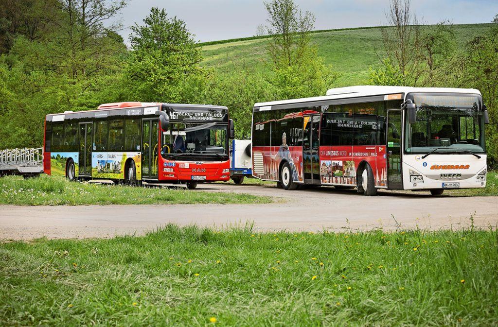 Der Limes- und der Berg-und-Tal-Bus haben ein neues Design. Foto: