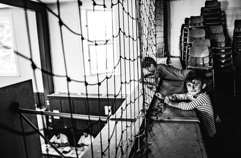 Auch in schwierigen Situationen haben sich Flüchtlingskinder ihr Lachen bewahrt. Foto: Cana Yilmaz