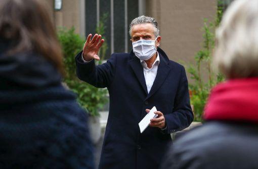 Kandidat Nopper distanziert sich nach Vorwürfen von Unterstützer
