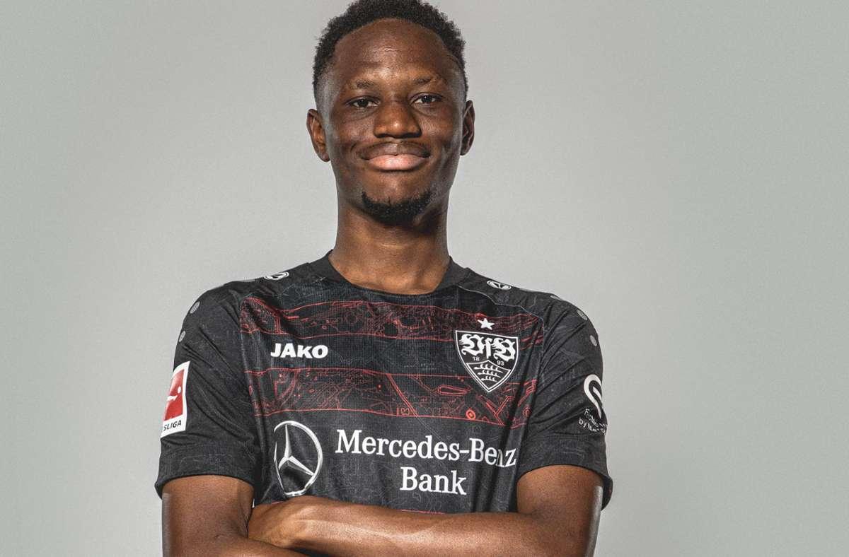 Momo Cissé ist der nächste Franzose, der in der Bundesliga sein Glück versucht – beim VfB Stuttgart. Foto: VfB