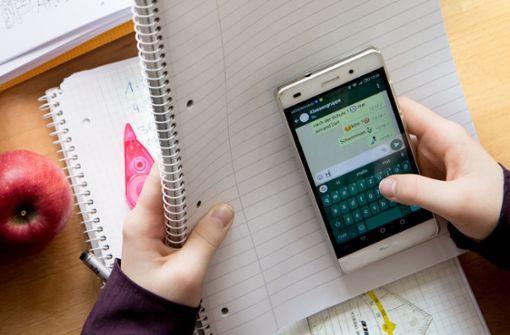 In der Schule muss das Smartphone aus sein