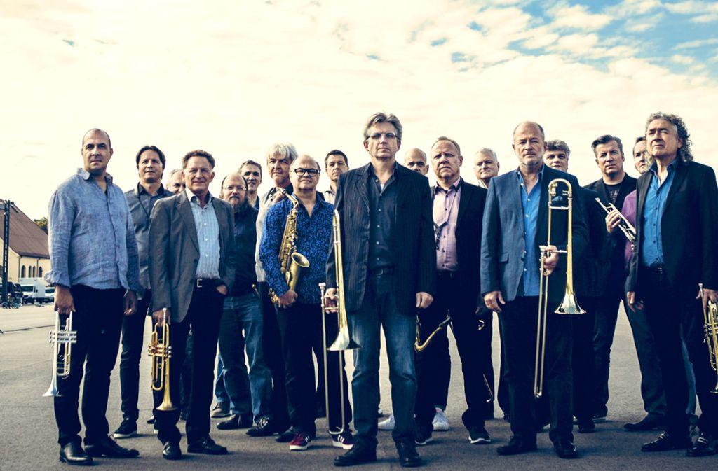 Die SWR Bigband vor ihrem Auftritt in Heilbronn Foto: Lena Semmelroggen