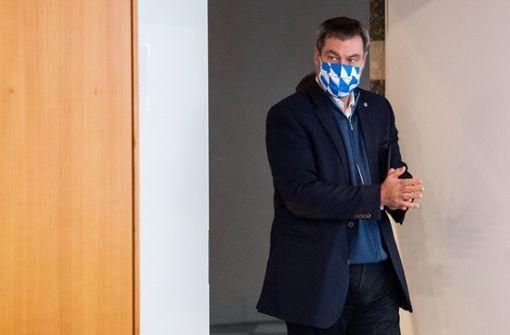 Markus Söder sieht Gefahr für zweiten Lockdown