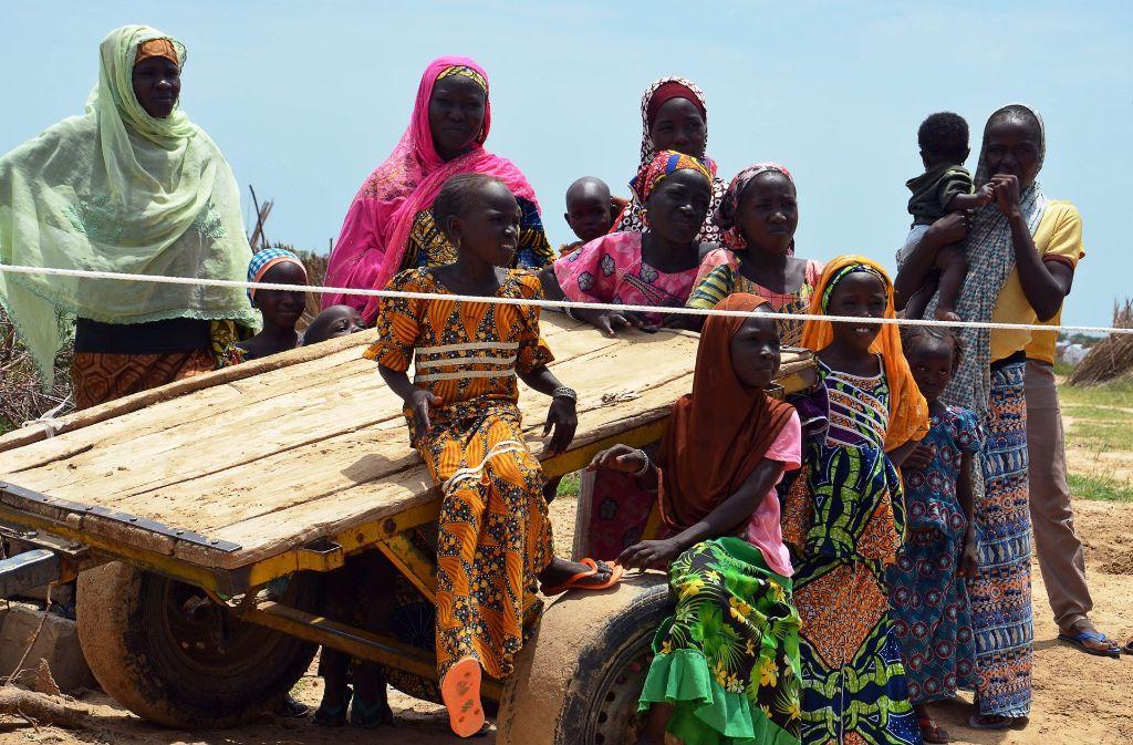 Viele Menschen flüchten vor Boko Haram. Foto: AFP