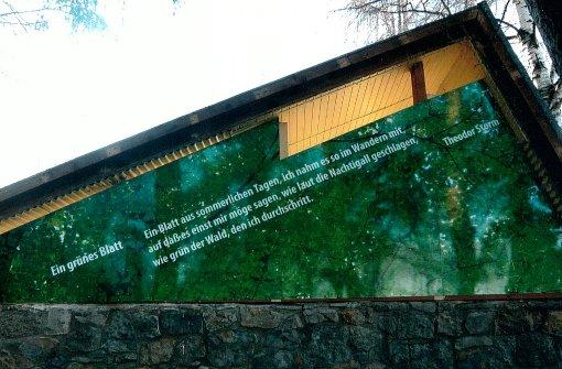 Poesie in der Waldhütte