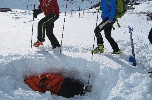 Wenn die Schneedecke wummert