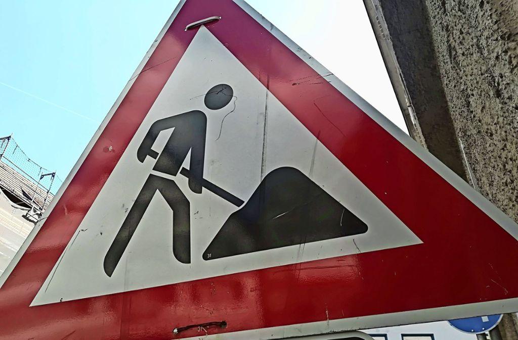 Der Umbau der Filderbahnstraße ist in diesem Jahr das größte Projekt. Foto: Archiv J. Sägesser