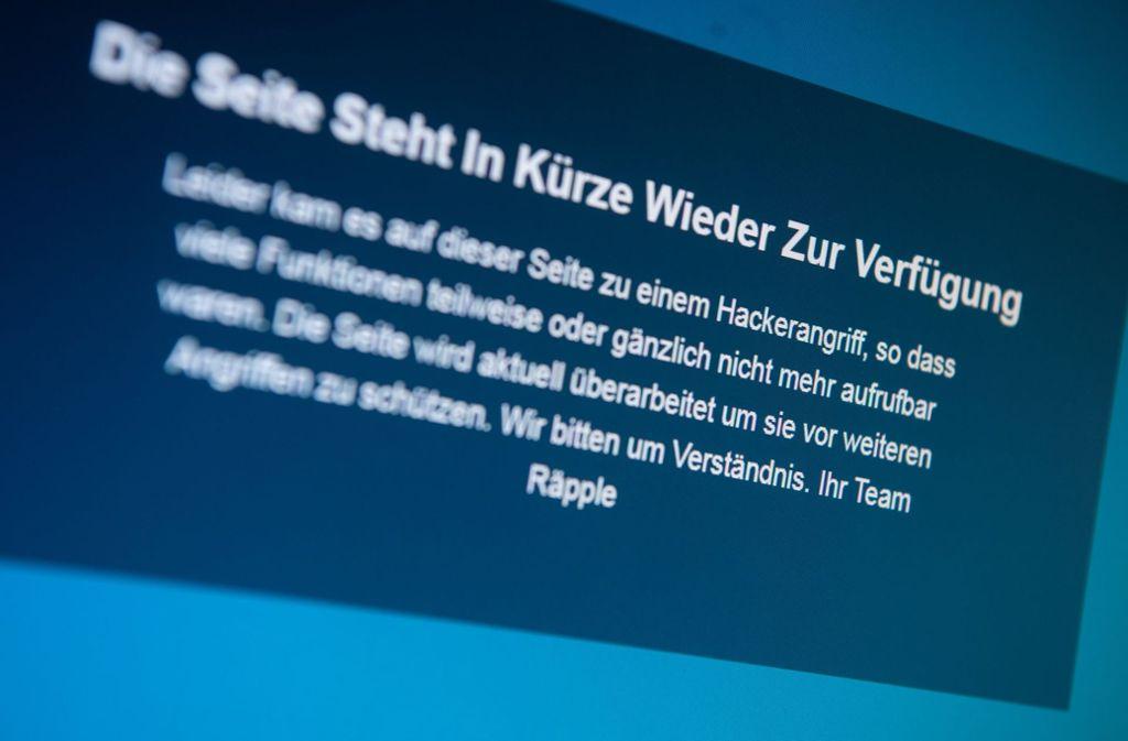 Offline: Der vom AfD-Landtagsabgeordneten Stefan Räpple initiierte Lehrer-Meldeplattform sorgt weiter für Schlagzeilen und Diskussionsstoff – auch in Stuttgart Foto: dpa