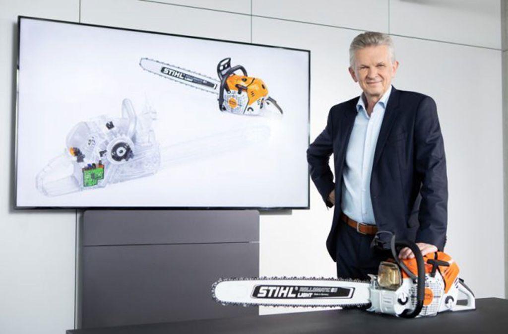 Stihl-Chef Bertram Kandziora will das Innovationstempo steigern. Foto: Andreas Stihl AG & Co. KG