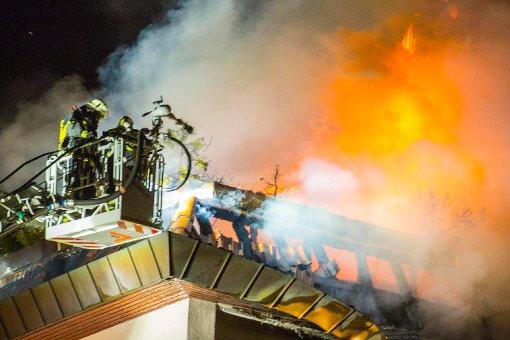 Verdacht der Brandstiftung