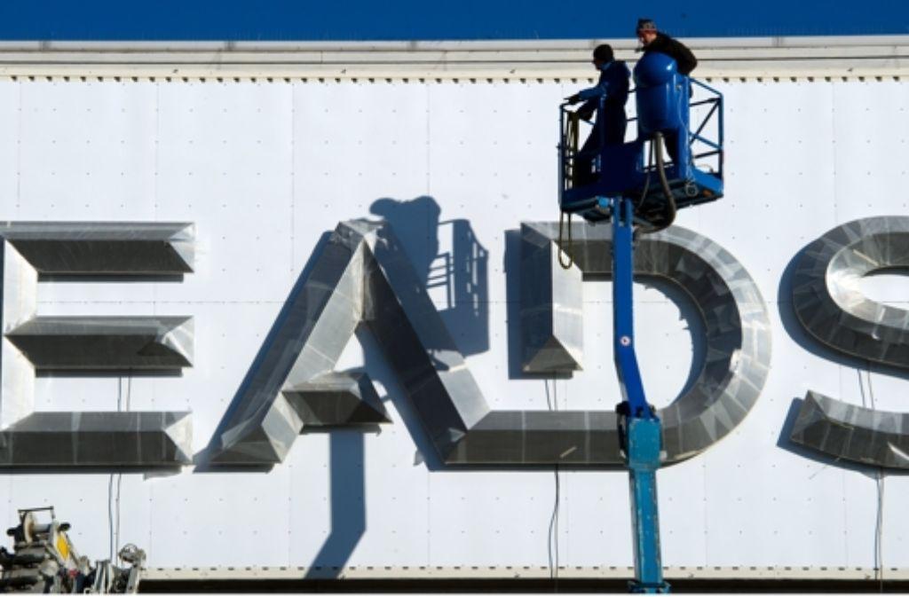 Bei EADS werden Jobs eingespart. Foto: dpa