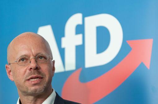 Andreas Kalbitz soll AfD vorerst wieder verlassen