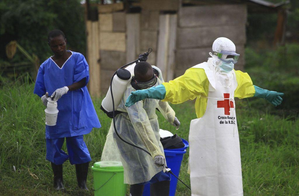 Im Kongo sind etwa 1000 Menschen am Ebola-Virus erkrankt. Foto: AP