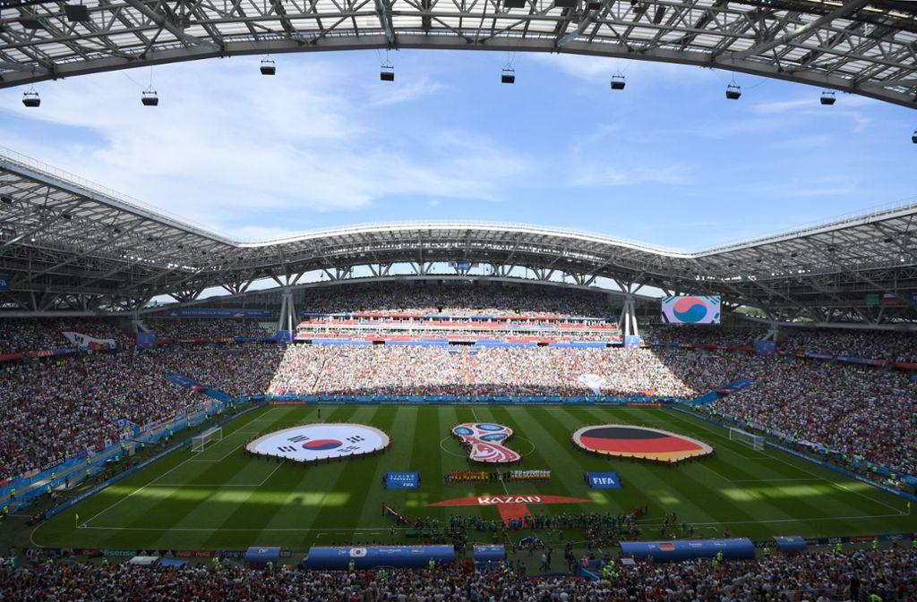 Nach dem WM-Aus der deutschen Elf sind für andere Fans jetzt Tickets frei geworden. Foto: dpa