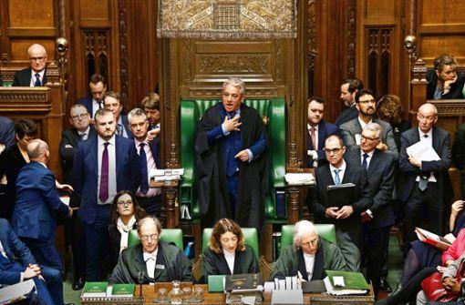 Sabotiert Mr. Speaker den Brexit?