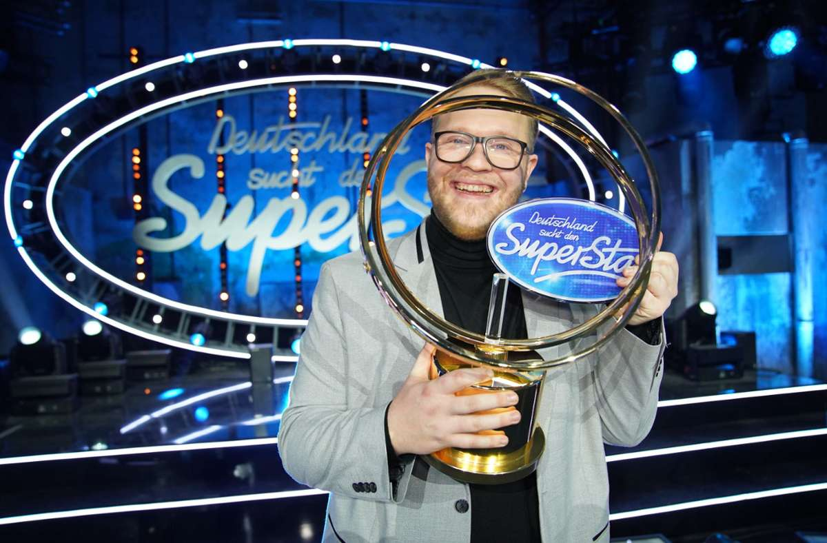"Azubi Jan-Marten Block ist der neue ""Superstar"". Foto: dpa/Stefan Gregorowius"