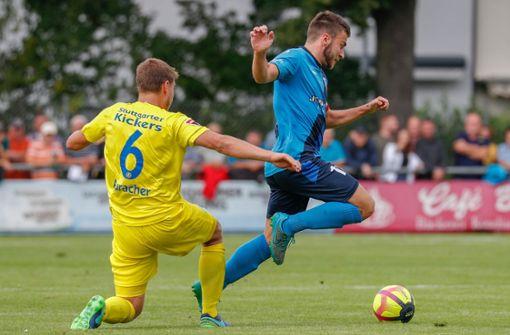 Derby der Stuttgarter Kickers gegen FSV Bissingen abgesagt