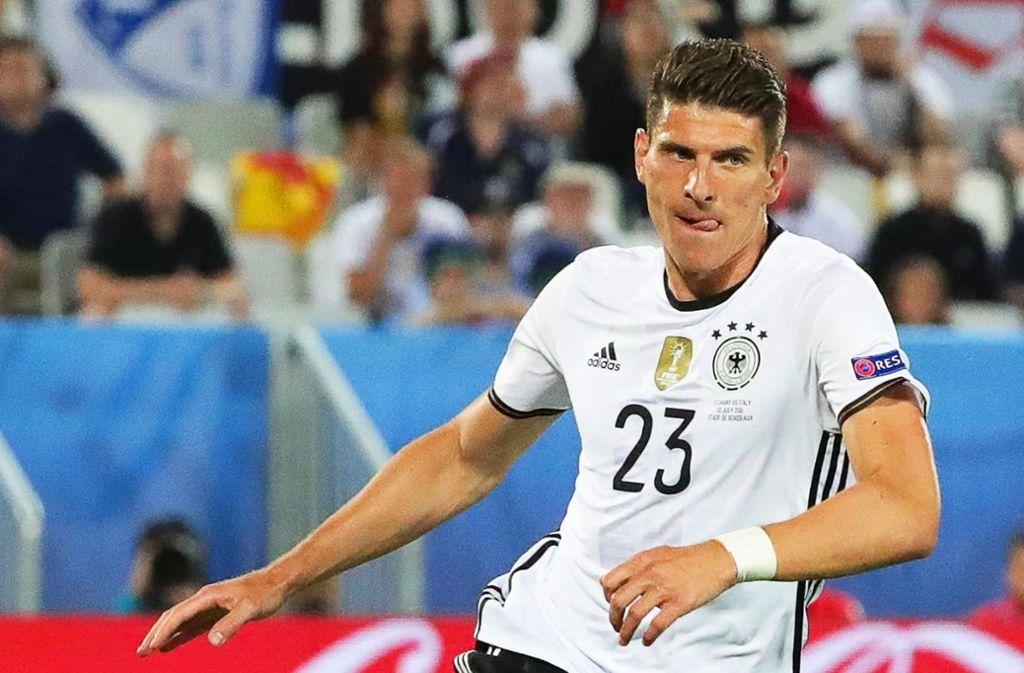 Mario Gomez brennt auf Einsätze bei der WM Foto: dpa