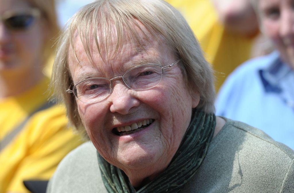 Gudrun Pausewang wurde 91 Jahre alt. Foto: dpa/David-Wolfgang Ebener