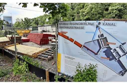 Großbaustelle bleibt bis Ende Juli 2022