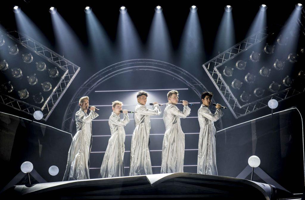 """Das Take-That-Musical """"The Band"""" kommt nach Berlin. Foto: dpa"""