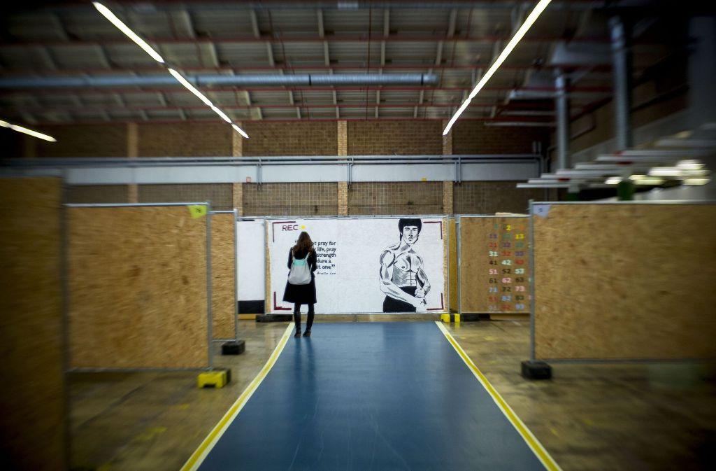Bruce Lee macht Mut. Foto: Lichtgut/Leif Piechowski