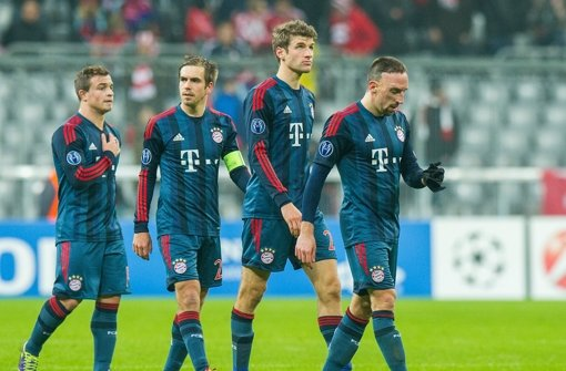 Bayern verliert 2:3 gegen ManCity