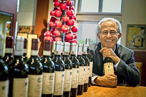 Weinmacher auf Werbetour