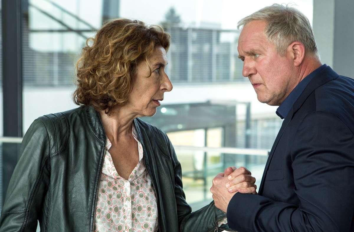 Kommissar Moritz Eisner (Harald Krassnitzer) und seine Kollegin Bibi Fellner (Adele Neuhauser). . Foto: ARD Degeto/ORF/Lotus Film/Anjeza