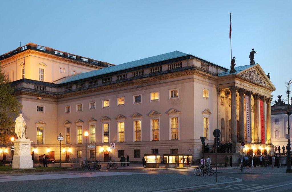 Berlin: Staatsoper Unter den Linden.  Foto: imago/Stock&People