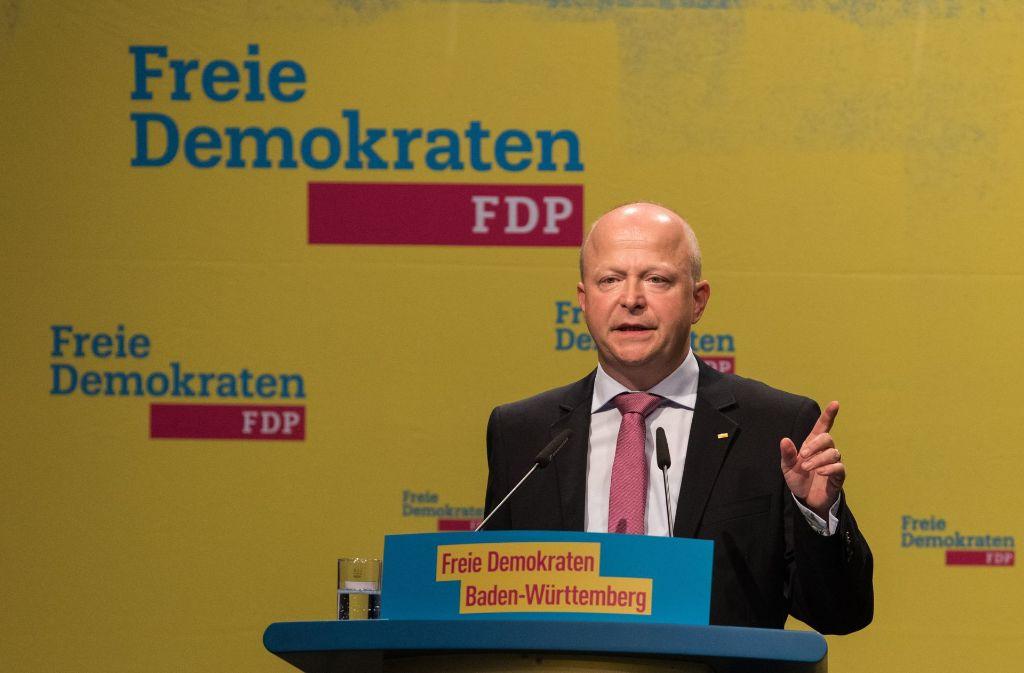 Die Delegierten der FDP wählten Theurer am Samstag zum Spitzenkandidaten für die Bundestagswahl im September nächsten Jahres. Foto: dpa