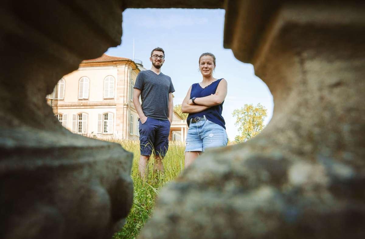 Marie-Luise Dralle, Hauke Delfs und ihre Kommilitonen würden gern wieder richtig studieren. Foto: Lichtgut/Julian Rettig